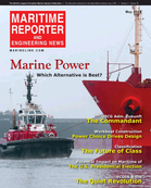 Maritime Reporter Magazine Cover May 2016 - The Marine Propulsion Edition