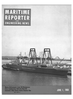 Marine News Magazine Cover Jun 1969 -