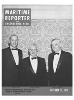 Maritime Reporter Magazine Cover Dec 15, 1970 -