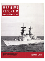 Maritime Reporter Magazine Cover Dec 1977 -