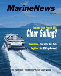 Marine News Magazine Cover Jan 2005 -
