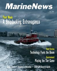 Marine News Magazine Cover Jul 2005 -