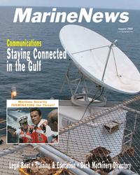 Marine News Magazine Cover Aug 2005 -