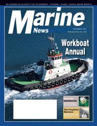 Marine News Magazine Cover Nov 2010 - Workboat Annual