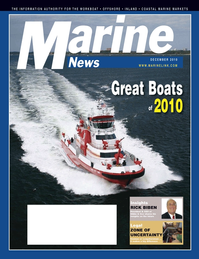 Marine News Magazine Cover Dec 2010 - Great Ships of 2010