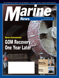Marine News Magazine Cover Sep 2011 - The Environmental Edition