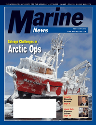 Marine News Magazine Cover Feb 2012 - Inland Bulk Transportation