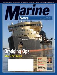 Marine News Magazine Cover Jun 2012 - Dredging & Marine Construction