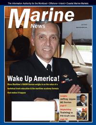 Marine News Magazine Cover Jul 2012 - Propulsion Technology