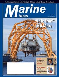 Marine News Magazine Cover Aug 2012 - Salvage & Recovery