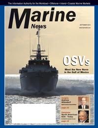 Marine News Magazine Cover Sep 2012 - Environment: Stewardship & Compliance