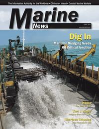 Marine News Magazine Cover Jun 2013 - Dredging & Marine Construction