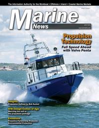 Marine News Magazine Cover Jul 2016 - Propulsion Technology