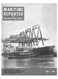 Maritime Reporter Magazine Cover May 1969 -