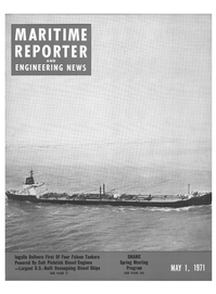 Maritime Reporter Magazine Cover May 1971 -