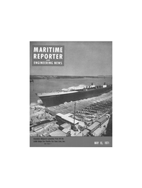 Maritime Reporter Magazine Cover May 15, 1971 -