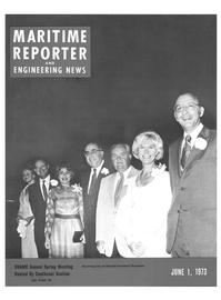 Maritime Reporter Magazine Cover Jun 1973 -