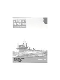 Maritime Reporter Magazine Cover Jan 1980 -