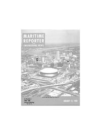 Maritime Reporter Magazine Cover Jan 15, 1980 -