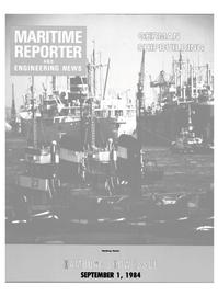 Maritime Reporter Magazine Cover Sep 1984 -