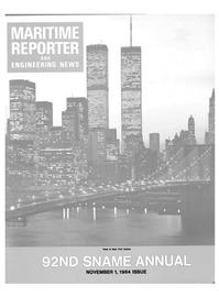 Maritime Reporter Magazine Cover Nov 1984 -