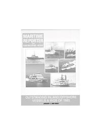 Maritime Reporter Magazine Cover Jan 1986 -