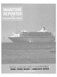 Maritime Reporter Magazine Cover Jul 1988 -