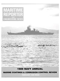 Maritime Reporter Magazine Cover Feb 1989 -