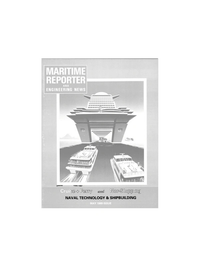 Maritime Reporter Magazine Cover May 1989 -