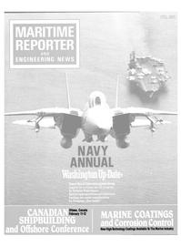 Maritime Reporter Magazine Cover Feb 1991 -