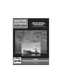 Maritime Reporter Magazine Cover Sep 1991 -