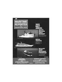 Maritime Reporter Magazine Cover Feb 1992 -