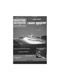 Maritime Reporter Magazine Cover Jul 1994 -