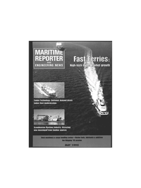 Maritime Reporter Magazine Cover May 1995 -
