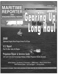 Maritime Reporter Magazine Cover Oct 1998 -