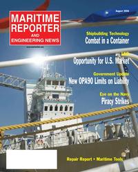 Maritime Reporter Magazine Cover Aug 2006 - AWO Edition: Inland & Offshore Waterways