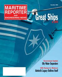 Maritime Reporter Magazine Cover Dec 2, 2006 -