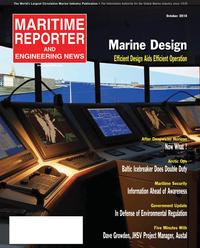 Maritime Reporter Magazine Cover Oct 2010 - Marine Design Annual