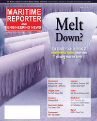 Maritime Reporter Magazine Cover May 2012 - The Green Ship Edition