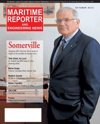 Maritime Reporter Magazine Cover Oct 2012 - Marine Design & Construction