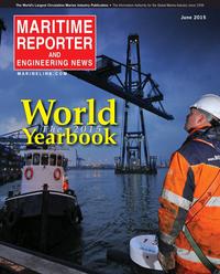 Maritime Reporter Magazine Cover Jun 2015 - Annual World Yearbook