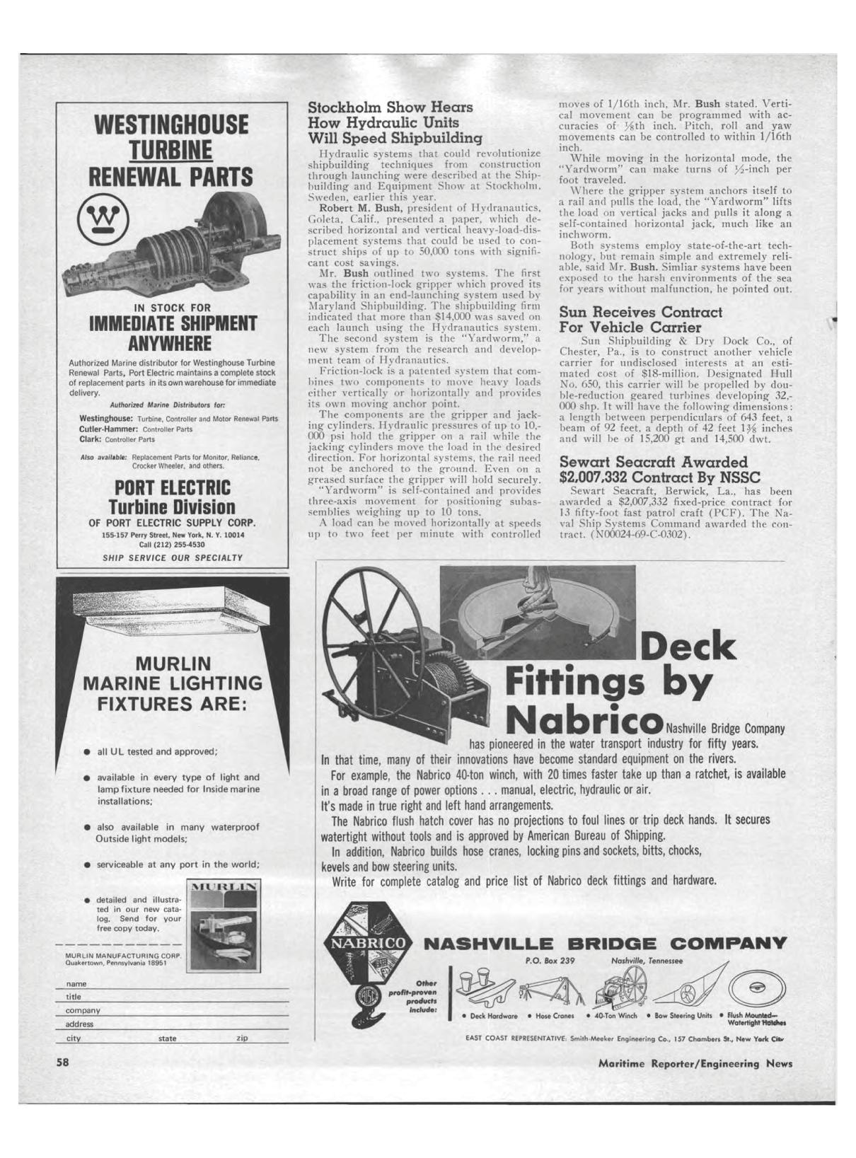 ViewMarine News June 1969