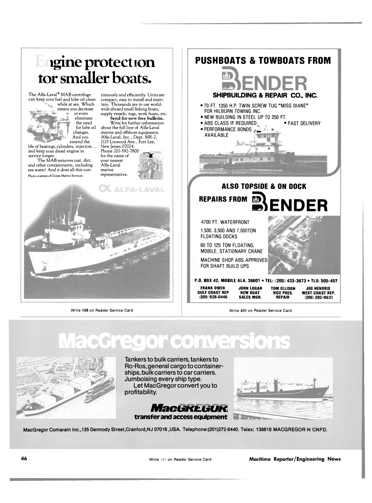 ViewMaritime Reporter And Engineering News July 1981