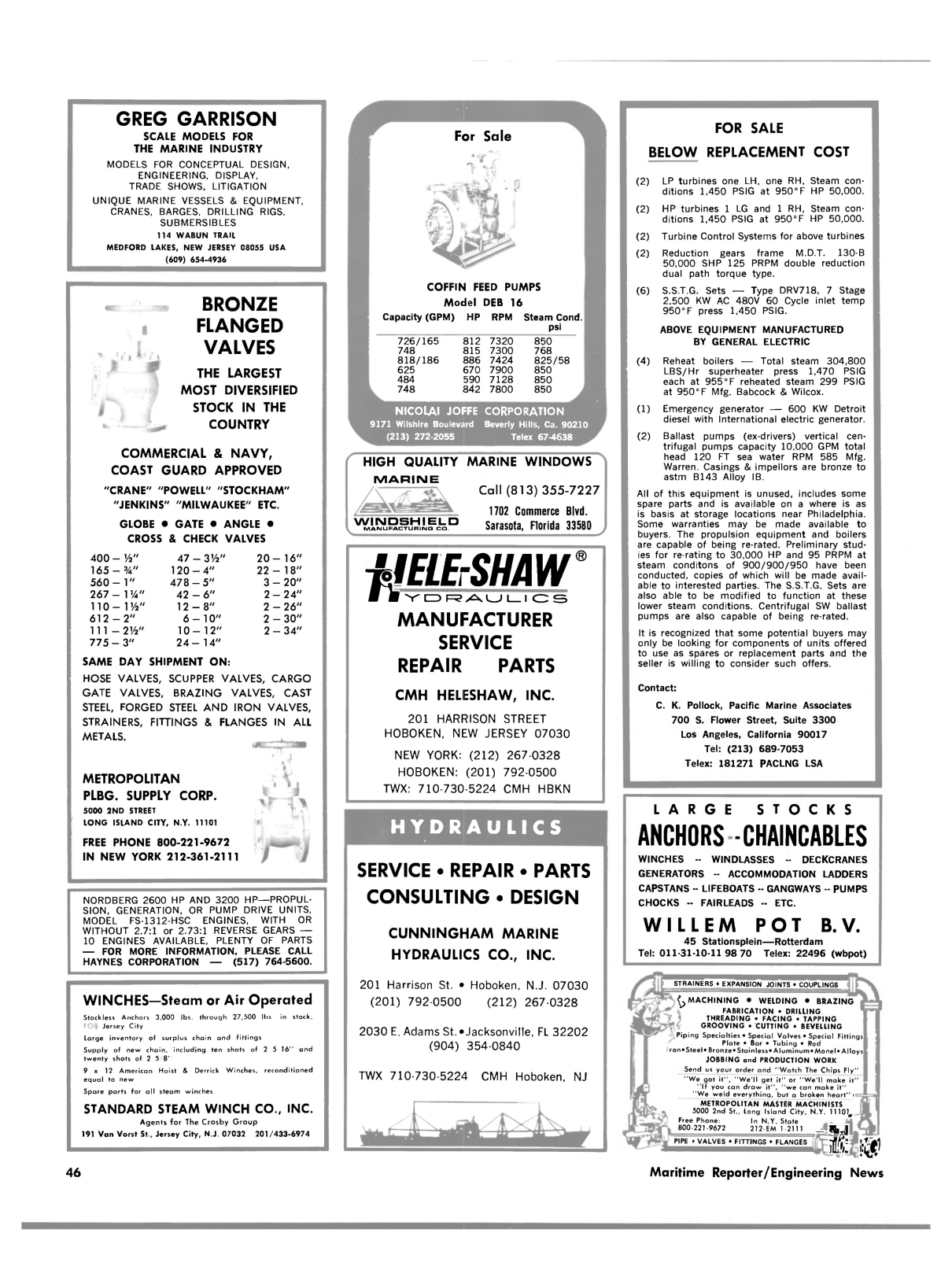 ViewMaritime Reporter and Engineering News (February 15, 1983)