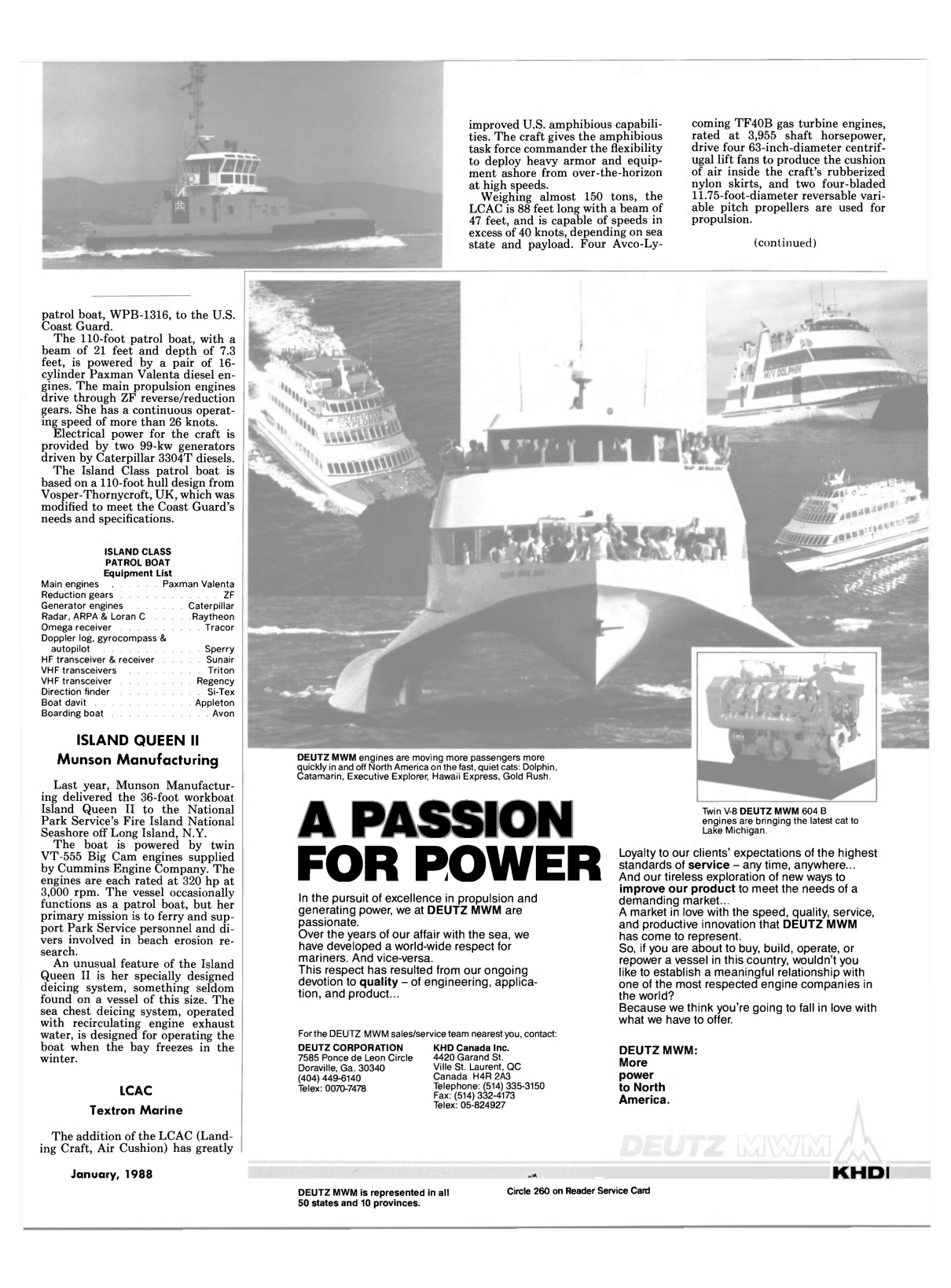 Viewmaritime Reporter And Engineering News January 1988 Wagner Headlight Wiring Diagram For 4420 29