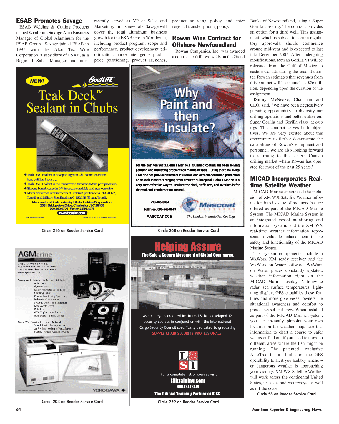 ViewMaritime Reporter and Engineering News (April 2005)