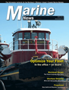 Logo of March 2014 - Marine News