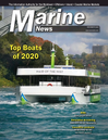 Logo of December 2020 - Marine News