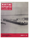 Logo of January 15, 1974 - Maritime Reporter and Engineering News