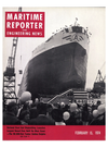 Logo of February 15, 1974 - Maritime Reporter and Engineering News